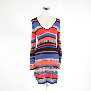 Pink blue  ANTHROPOLOGIE TRINA TURK dress S